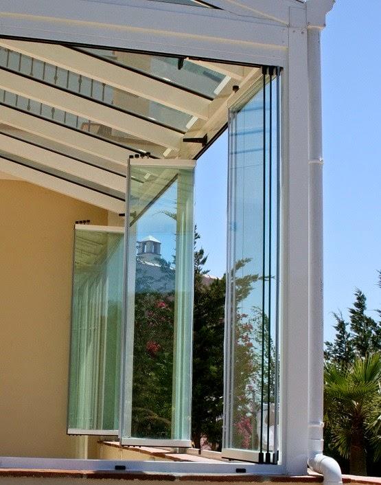 Cerramientos abatibles cortinas de cristal - Cortinas de cristal alicante ...